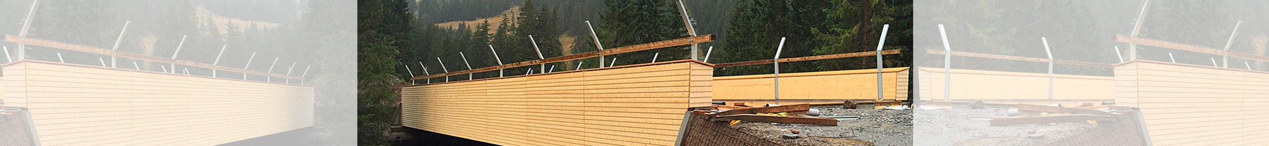 Holzbau Burn AG Adelboden Bau Holzbrücke