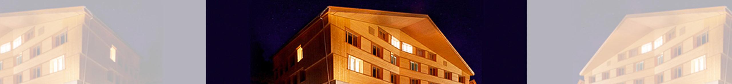 Holzbau Burn AG Adelboden Neubau Holzhaus